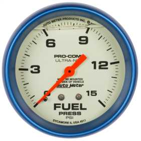 Ultra-Nite™ Mechanical Fuel Pressure Gauge 4211