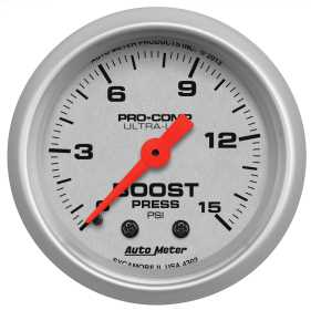 Ultra-Lite® Mechanical Boost Gauge
