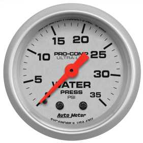 Ultra-Lite® Mechanical Water Pressure Gauge