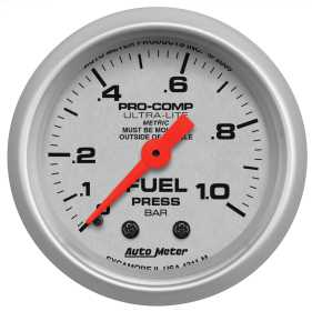 Ultra-Lite® Mechanical Fuel Pressure Gauge