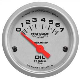 Ultra-Lite® Electric Oil Pressure Gauge