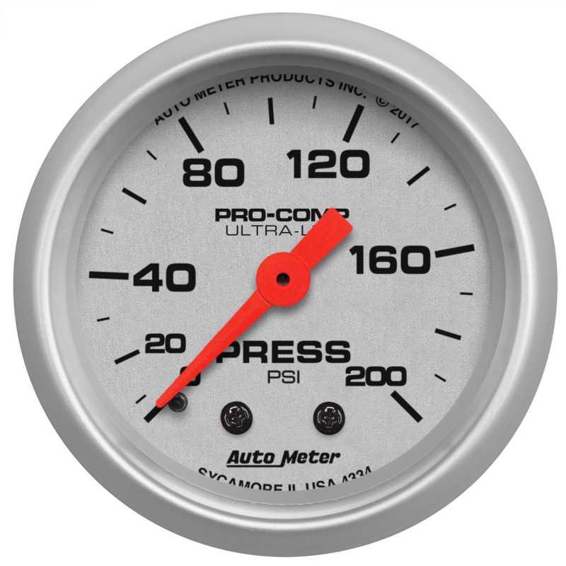 Ultra-Lite® Mechanical Pressure Gauge 4334