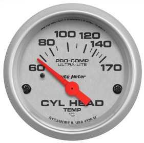 Ultra-Lite® Electric Cylinder Head Temperature Gauge