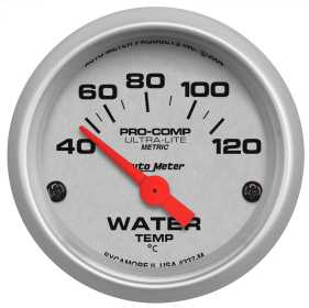 Ultra-Lite® Electric Water Temperature Gauge
