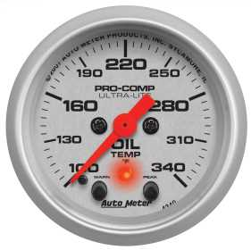 Ultra-Lite® Electric Oil Temperature Gauge