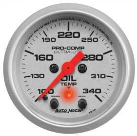 Ultra-Lite® Electric Oil Temperature Gauge