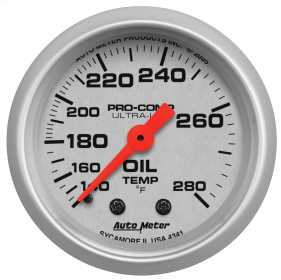Ultra-Lite® Mechanical Oil Temperature Gauge