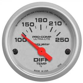 Ultra-Lite® Electric Differential Temperature Gauge