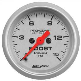 Ultra-Lite® Electric Boost Gauge