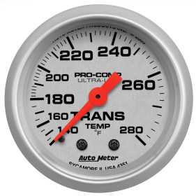 Ultra-Lite® Mechanical Transmission Temperature Gauge