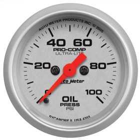 Ultra-Lite™ Digital Oil Pressure Gauge