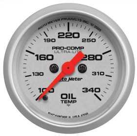 Ultra-Lite™ Digital Oil Temperature Gauge