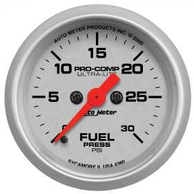 Ultra-Lite® Electric Fuel Pressure Gauge