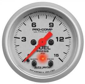Ultra-Lite® Electric Fuel Pressure Gauge 4367