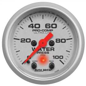 Ultra-Lite® Electric Water Pressure Gauge