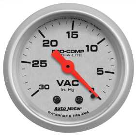 Ultra-Lite® Mechanical Vacuum Gauge