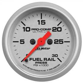 Ultra-Lite® Fuel Rail Pressure Gauge