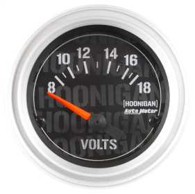Hoonigan™ Electric Voltmeter Gauge