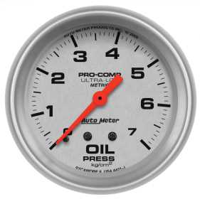 Ultra-Lite® Mechanical Metric Oil Pressure Gauge