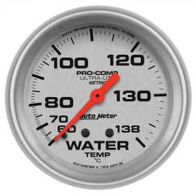 Ultra-Lite® Mechanical Metric Water Temperature Gauge