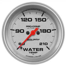 Ultra-Lite® Water Temperature Gauge