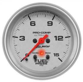Ultra-Lite® Electric Fuel Pressure Gauge 4470