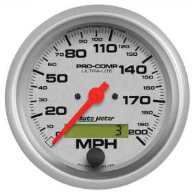 Ultra-Lite® In-Dash Electric Speedometer