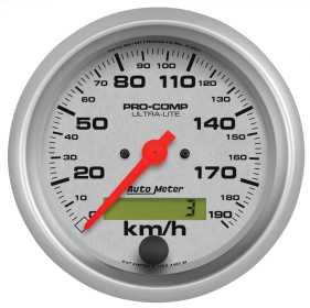 Ultra-Lite® In-Dash Electric Speedometer 4487-M