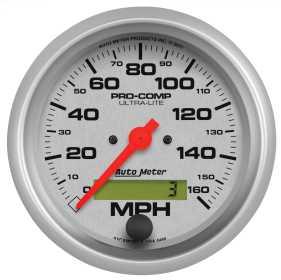 Ultra-Lite® In-Dash Electric Speedometer 4488