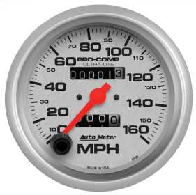 Ultra-Lite® In-Dash Mechanical Speedometer 4493