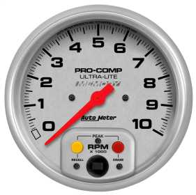 Ultra-Lite® In-Dash Single Range Tachometer