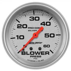 Silver™ LFGs Blower Pressure Gauge