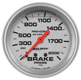 Ultra-Lite® Mechanical Brake Pressure Gauge 4626