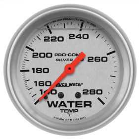 Ultra-Lite® LFGs Water Temperature Gauge