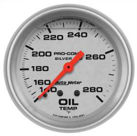 Ultra-Lite® LFGs Oil Temperature Gauge