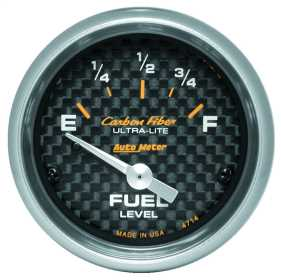 Carbon Fiber™ Electric Fuel Level Gauge