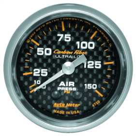 Carbon Fiber™ Mechanical Air Pressure Gauge