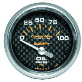 Carbon Fiber™ Electric Oil Pressure Gauge