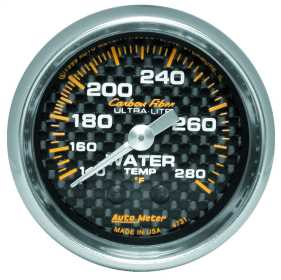 Carbon Fiber™ Mechanical Water Temperature Gauge