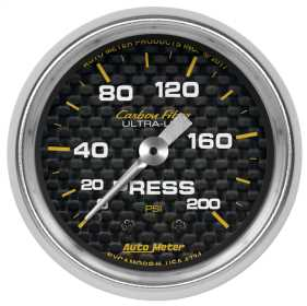 Carbon Fiber™ Mechanical Pressure Gauge