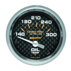 Carbon Fiber™ Electric Oil Temperature Gauge