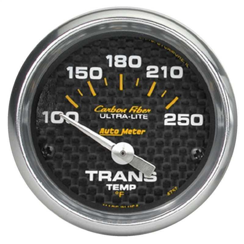 Carbon Fiber™ Electric Transmission Temperature Gauge 4757