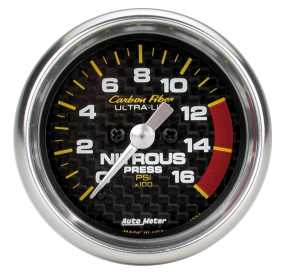 Carbon Fiber™ Electric Nitrous Pressure Gauge