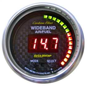 Carbon Fiber™ PRO Wideband Air Fuel Ratio Gauge