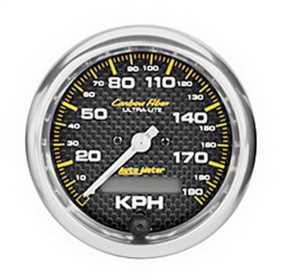 Carbon Fiber™ In-Dash Electric Speedometer 4787-M