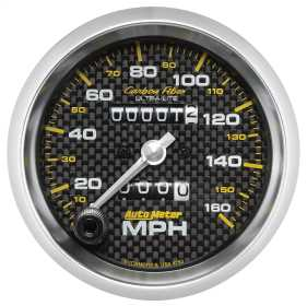 Carbon Fiber™ Mechanical Speedometer