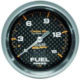 Carbon Fiber™ Mechanical Fuel Pressure Gauge 4811