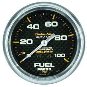 Carbon Fiber™ Mechanical Fuel Pressure Gauge 4812