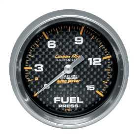 Carbon Fiber™ Mechanical Fuel Pressure Gauge 4813