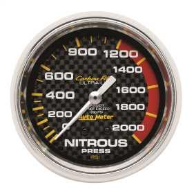 Carbon Fiber™ Mechanical Nitrous Pressure Gauge 4828